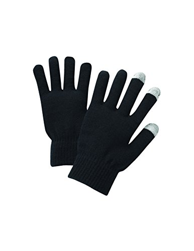 Unisex Touchscreen Warm Outdoor Winter Gloves ( Pack of 3 Black , One Size Fits All , Touch Screen and texting , Knit Magic Stretch Mittens for Men , Women and Children ) by Go Beyond (TM) (Image #2)