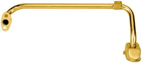 Milodon 18380 Gold Zinc Plated Low Profile Oil Pan Pickup for Ford 302W