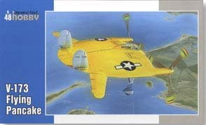 Special Hobby V173 Flying Pancake USN Aircraft (1/48 Scale)