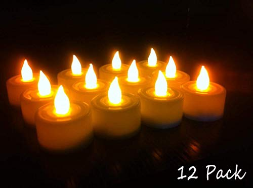 Buyerzone-Electric-Smokeless-Led-Candle-Lights-for-Decoration-Set-of-12-Pcs