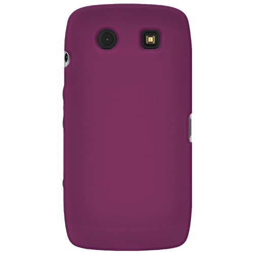 Amzer Silicone Skin Jelly Case for BlackBerry Torch 9850/9860 - Purple Blackberry Torch Silicone Skin