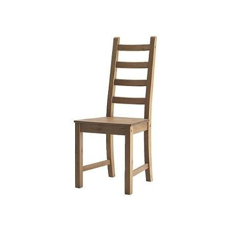 IKEA sedia \'KAUSTBY\' legno sedia da cucina e sedie - tinte ...