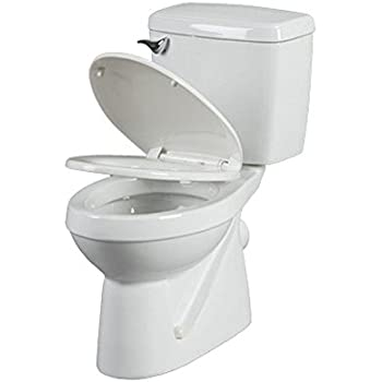 Saniflo SaniPLUS: Macerating Upflush Toilet Kit (with Elongated Bowl ...
