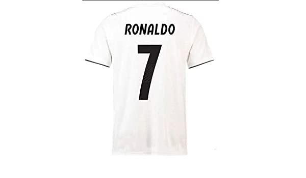 HBSC Camiseta Copa Mundial Uniforme de fútbol del Real Madrid C ...