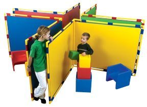 Children's Factory Big Screen Right Angle Panel - Blue