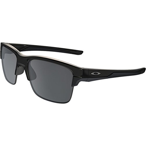 Oakley Thinlink Sunglasses, Polished Black/Black Iridium, One - Oakley Latest Design