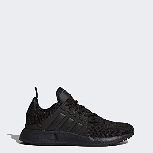 adidas Originals Boys' X_PLR J Running Shoe, Black, 5 Medium US Big Kid