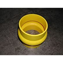 """OBX 100% Pure Silicone Coupler -Yellow 3.0"""" with Hump 2 per pack"""