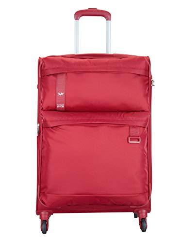 Skybags Polyester 69.7 cms Red Softsided Check-in Luggage (Skysurf-X)