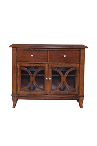 Furniture At Home Orion Collection Server, Cherry