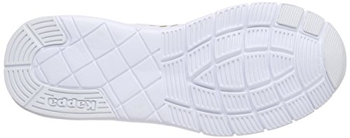 Blanc Milla Footwear Adulte Mixte Synthetic Mesh 1010 White Weiß Kappa Men Sneakers Basses M SvfqFFcUw