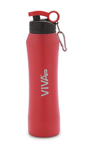 VIVA h2o Water Bottle  900 ml, Red