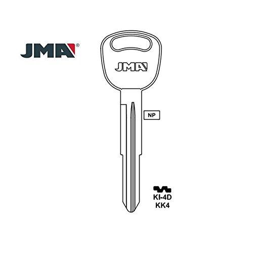 JMA Kia - Llave en blanco, KK4 y X267