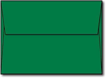 amazon com green a7 envelopes 5 1 4 x 7 1 4 100 envelopes