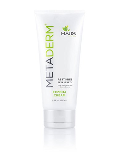 MetaDerm NATURAL Eczema Cream (6.5 oz.) Clinically Proven to Heal Itchy, Red, Rashy, Dry, Inflamed Skin and Prevent Future Outbreaks - 0.1% Lotion