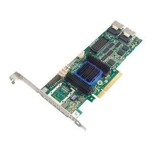 Adaptec 6805 8-port SAS RAID Controller - Serial ATA/600 - PCI Express x8 - Plug-in Card - RAID Supported - 0, 1, 1E, 5, 5EE, 6, 10, 50, 60, JBOD RAID Level - 2 Total SAS Port(s) - 2 SAS Port(s) Internal Battery Backup - 2271200-R