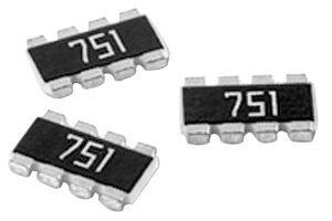 RES ARRAY 22 OHM 4 RES 1206 1000 pieces
