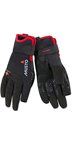Musto Performance Long Finger Sailing Gloves - 2018 - Black