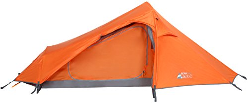 BORA 200 - 2 Person Tunnel Tent - LIGHTWEIGHT TECHNICAL TENT- 2 person TREKKING tent. (Bora 2)