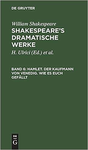 Descargar Por Elitetorrent Hamlet. Der Kaufmann Von Venedig. Wie Es Euch Gefällt En PDF Gratis Sin Registrarse
