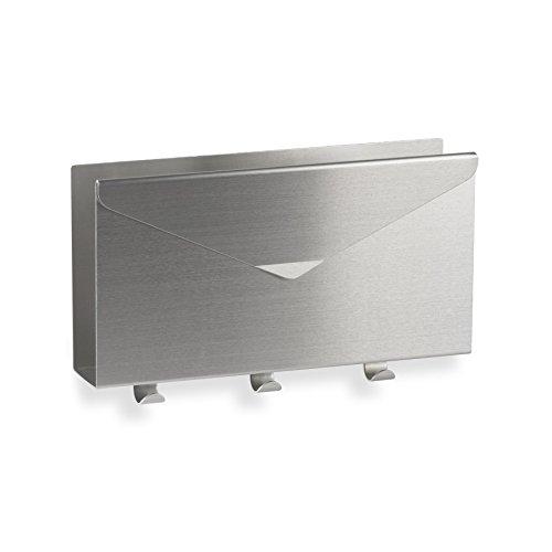 - Umbra Lettro Mail/Key Organizer, Brushed Aluminum