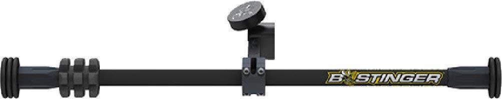 Bee Stinger B-Stinger MicroHex Counter Slide Stabilizer Dovetail Matte 15'', Black