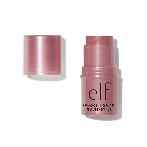 e.l.f, Monochromatic Multi Stick, Creamy, Lightweight, Versatile, Luxurious, Adds Shimmer, Easy To Use On The Go, Blends…