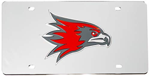 Rico Industries NCAA Southeast Missouri State Indians Laser Inlaid Metal License Plate Tag, Silver