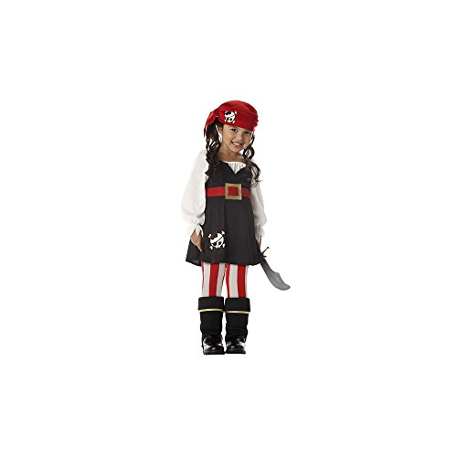 Precious Lil' Pirate Costume - Toddler (Scary Halloween Ideas For Girls)