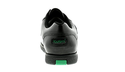 11 Mens Sizes Fragma Kickers Fastening UK Black 6 School Shoes Touch Black Gents New Zq5xfPn5wO