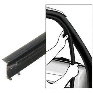 CRL 1975-91 Ford Full Size Van Inner and Outer Driver Side and Passenger Side Belt Weatherstrip- 4 PC Kit - 1012550