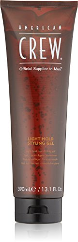American Crew Light Hold Styling Gel, 13.1 Fl. Oz., for men