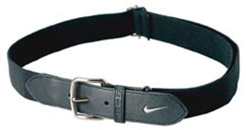 Nike Black Belt (Nike Youth Baseball Belt (Black/White,)