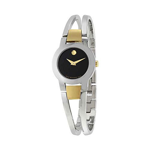 - Movado Women's Swiss Quartz Stainless Steel Casual Watch (Model: 0606893)