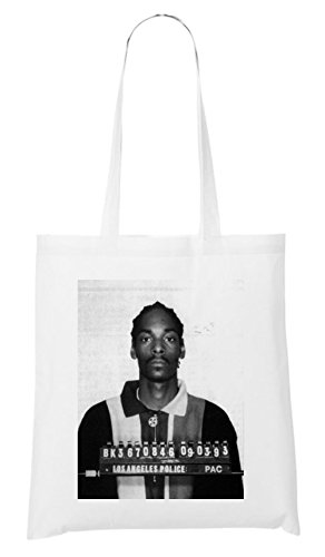 Snoop Mugshot Bag White