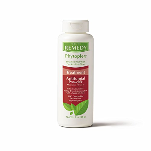 Remedy Phytoplex Antifungal Powder with 2% Miconazole Nitrate for Common Fungal Infections incuding Athlete's Foot, Talc…