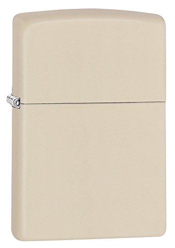 Zippo Pocket Lighter, Cream Matte