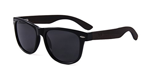 Polarized Bamboo Sunglasses - Eco-Friendly, Made For Men and Women, UV400 Protection, Light weight, free repair tool included - ShoppBoss by ShoppBoss (Image #3)
