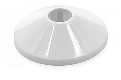 Pack de 5 embellecedores dobles para radiador - Blanco - 12 - 28 mm: Amazon.es: Bricolaje y herramientas