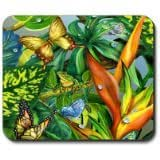 Frog & Butterflies - Mouse Pad 9*7.5inch