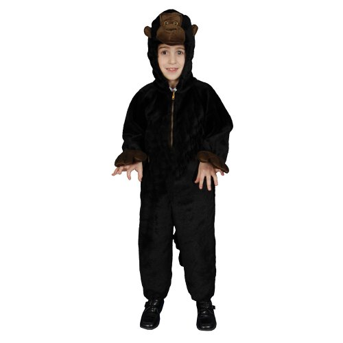 Little Kids Plush Gorilla Costume By Dress Up America