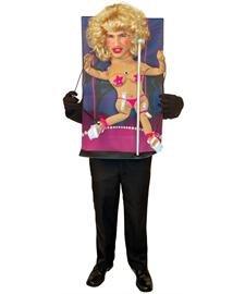 [Teenie Weenie Pole Dancer Costume - One Size - Chest Size 42-48] (Weenie Costumes)