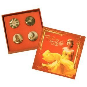 Taylor Swift Speak Now Lapel Pin Set of 4