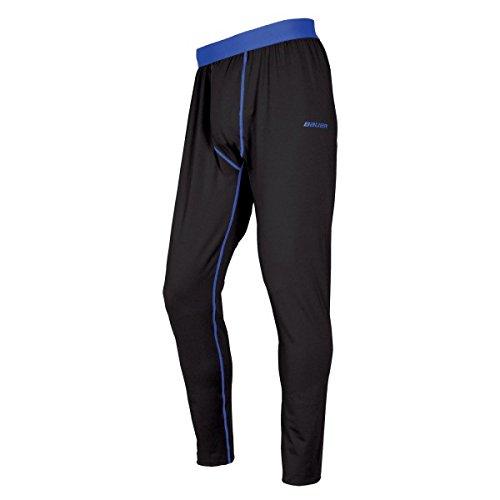 Bauer Basics Capa Base Pantalones Juvenil S17 - Negro, Large Negro