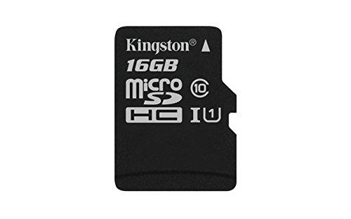 (Kingston Digital 16GB microSDHC Class 10 UHS-I 45R Flash Card (SDC10G2/16GBSP))