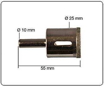 /Cer/ámica/ Diamante Sierra Broca sacan/úcleos 25/mm para cristal/ /M/ármol etc.