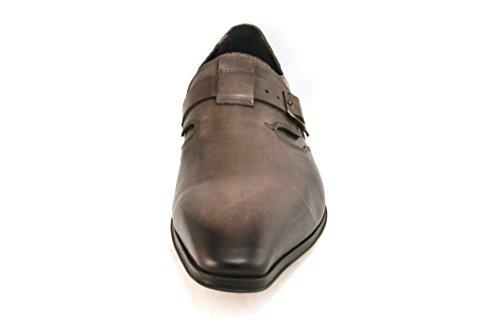 Zapato De Cuero Coloreado Para Hombre Jo Ghost 2098m Moscato