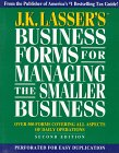 J. K. Lasser's Business Forms for Managing the Smaller Business, Arnold Goldstein, 0671883283