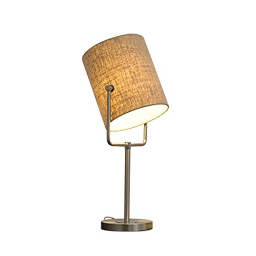 YWAWJ Table Lamp, Bedside Desk Lamp, Unique Round,Convenient Pull Chain,Ambient Light for Living Room,Bedroom (Size : 64CM)