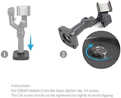 iMusk DJI OSMO Mobile 2 Gimbal Base Stand Holder Tripod Mount Setup Fixture for DJI OSMO Mobile 2 Gimbal Accessories